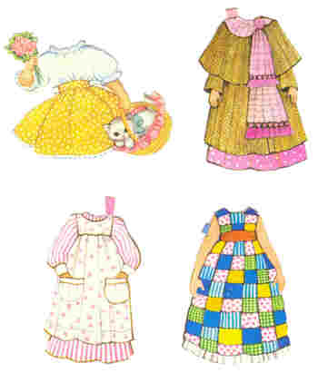 blank paper doll. table dolls blank paper